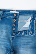 Load image into Gallery viewer, High Rise Button Fly Flare Jeans