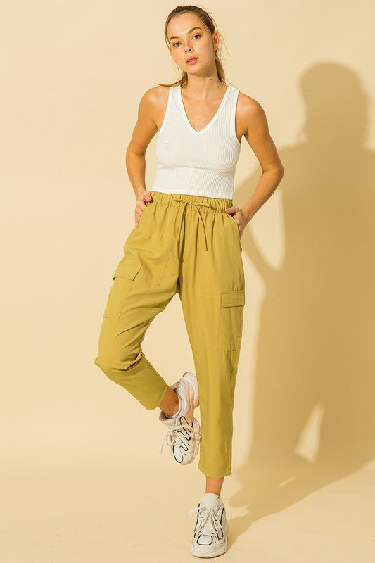 High Waist Baggy Cargo Pants