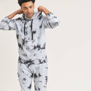Mono B MEN - Cotton Terry Tie-Dyed Hoodie