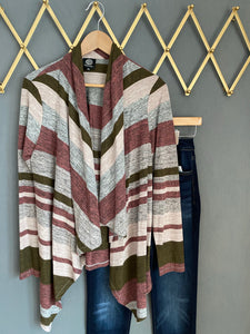 Stripe Cardigan by Bobeau