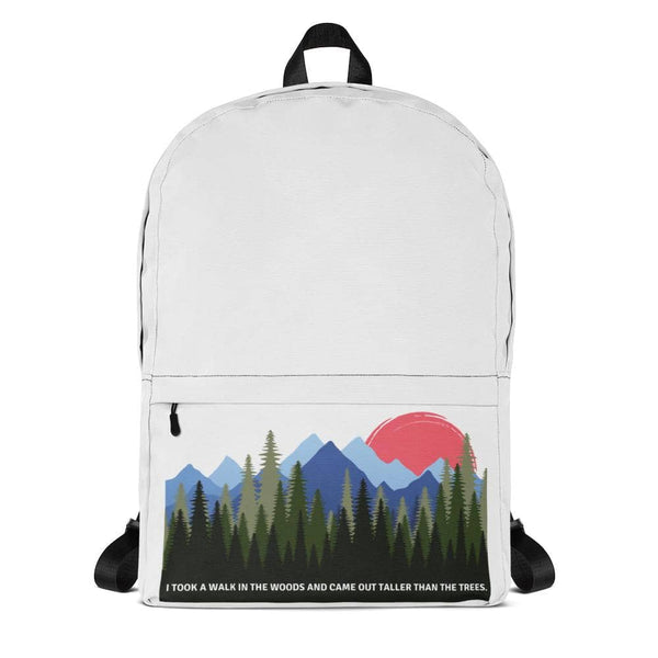 Taller Than Trees Backpack - Earth Rebirth