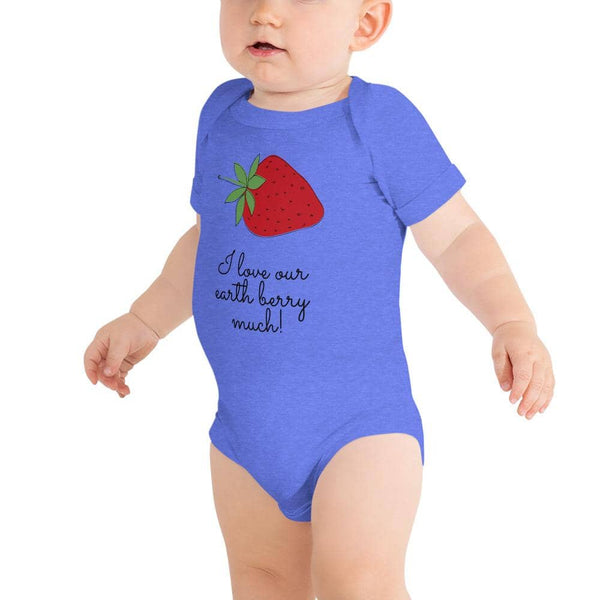 """Berry Love"" Baby One-Piece - Earth Rebirth"