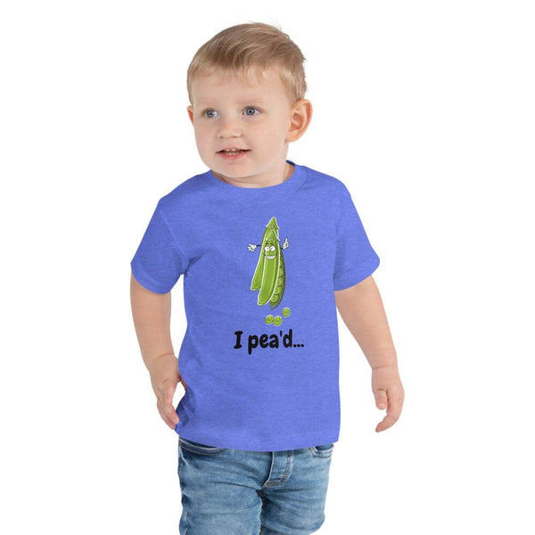 I Pea'd Toddler Short Sleeve Tee - Earth Rebirth