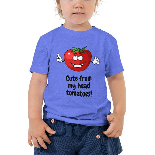 Head Tomatoes Toddler Short Sleeve Tee - Earth Rebirth