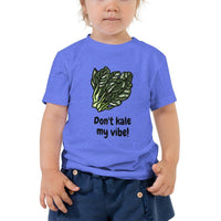 Kale My Vibe Toddler Short Sleeve Tee - Earth Rebirth