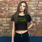 Dream Big, Act Bigger: Women's Crop Tee - Earth Rebirth