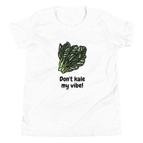 Kale My Vibe Youth Short Sleeve T-Shirt - Earth Rebirth