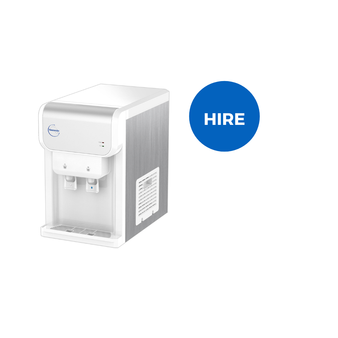 Urbane Series Mains Connected Water Benchtop Dispenser - Monthly Hire