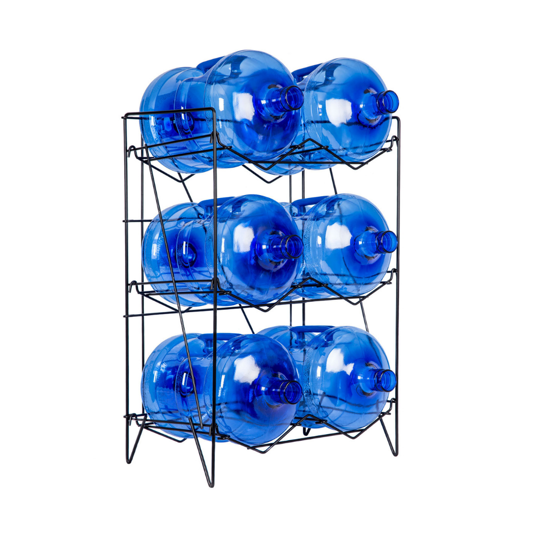 6 x Spring Water Bottle Storage Rack  - Annual Hire