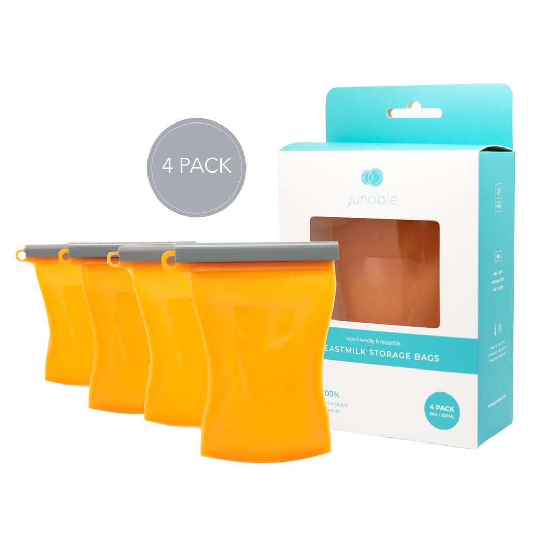 Bundled Reusable Breastmilk Storage Bags: Fall Collection