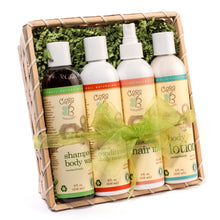 Load image into Gallery viewer, Baby Skin & Hair Care Gift Basket