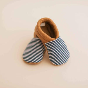 Charlie Striped Moccasins