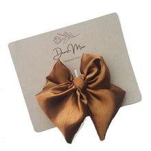Load image into Gallery viewer, Satin Hair Bow Set