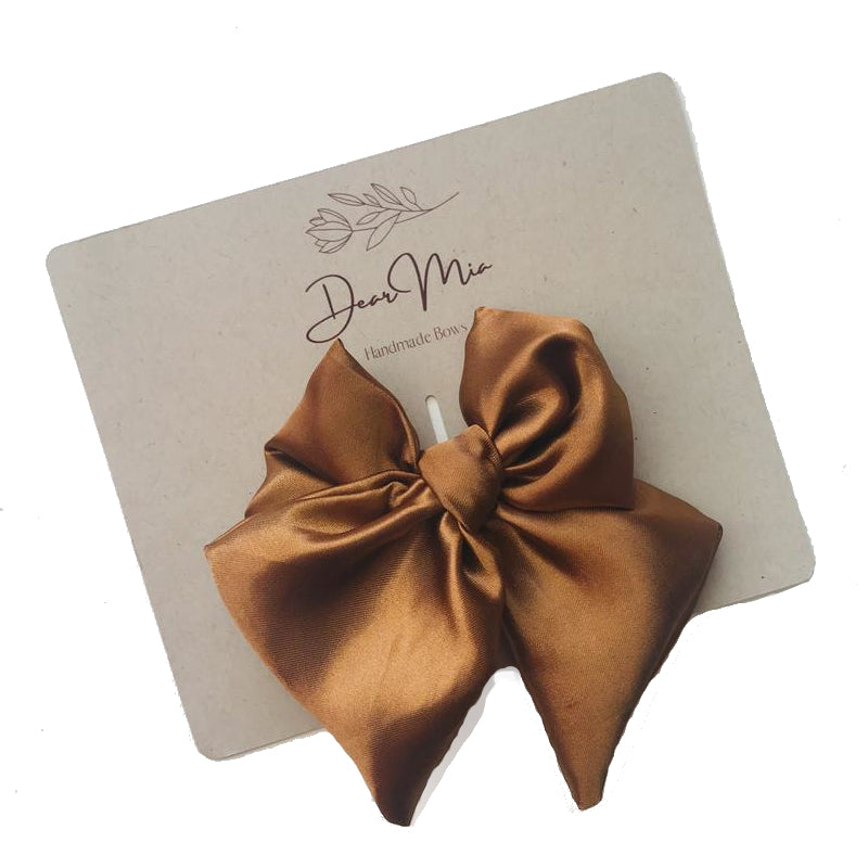 Satin Hair Bow Set