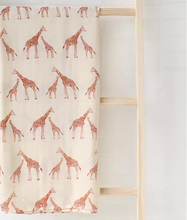 Load image into Gallery viewer, Mama Africa Giraffe Swaddle