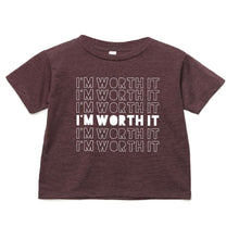 Load image into Gallery viewer, I'm Worth It Tee