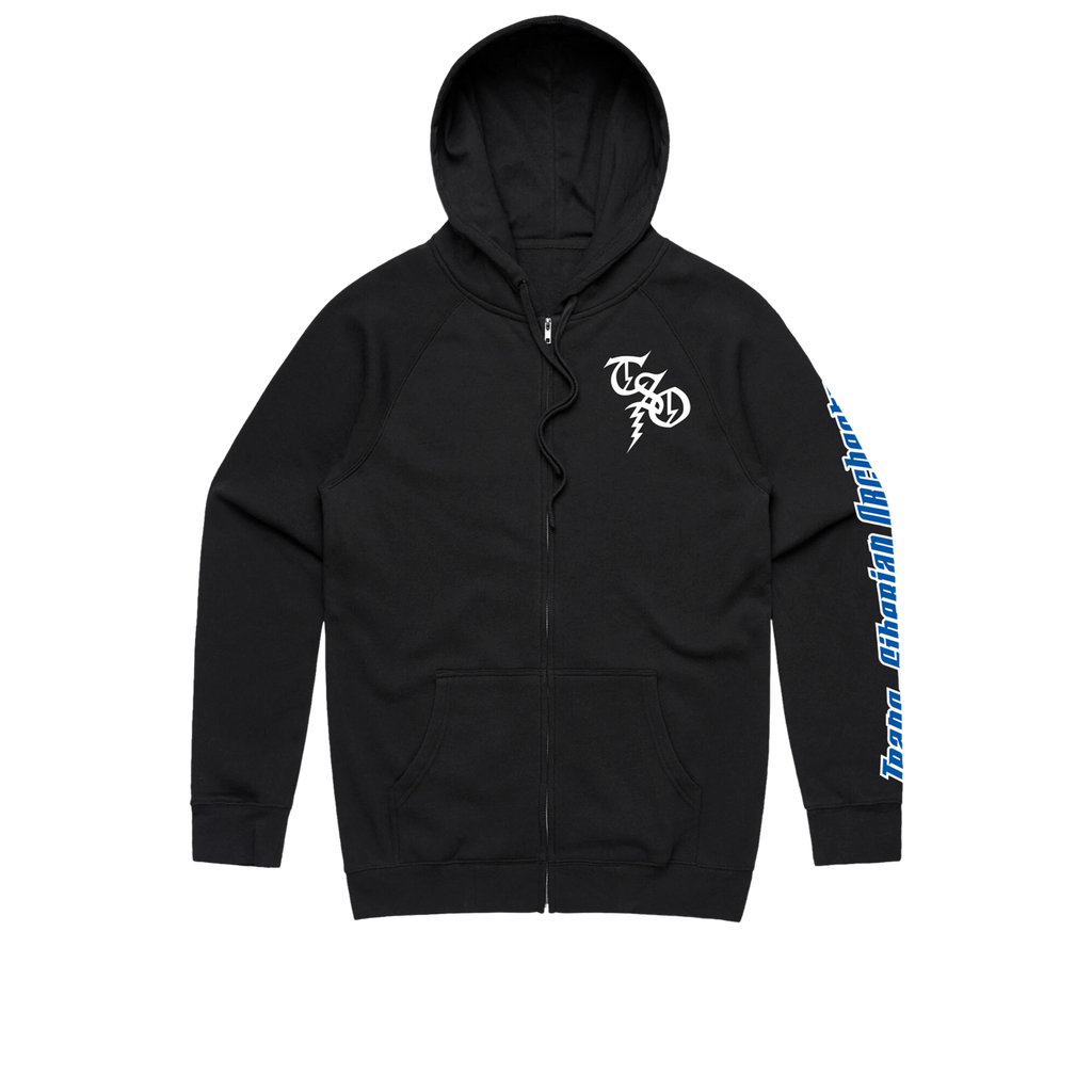 TSO Night Castle Zip Up Jacket (Black)