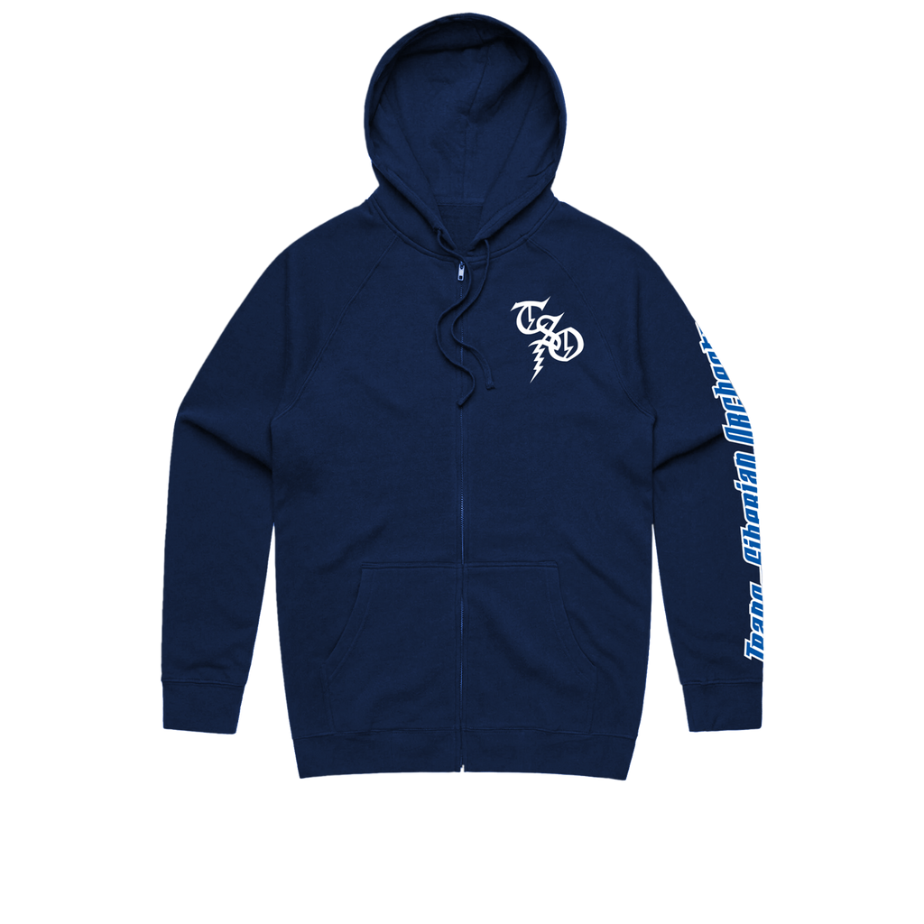 SO Night Castle Zip Up Jacket (Navy)