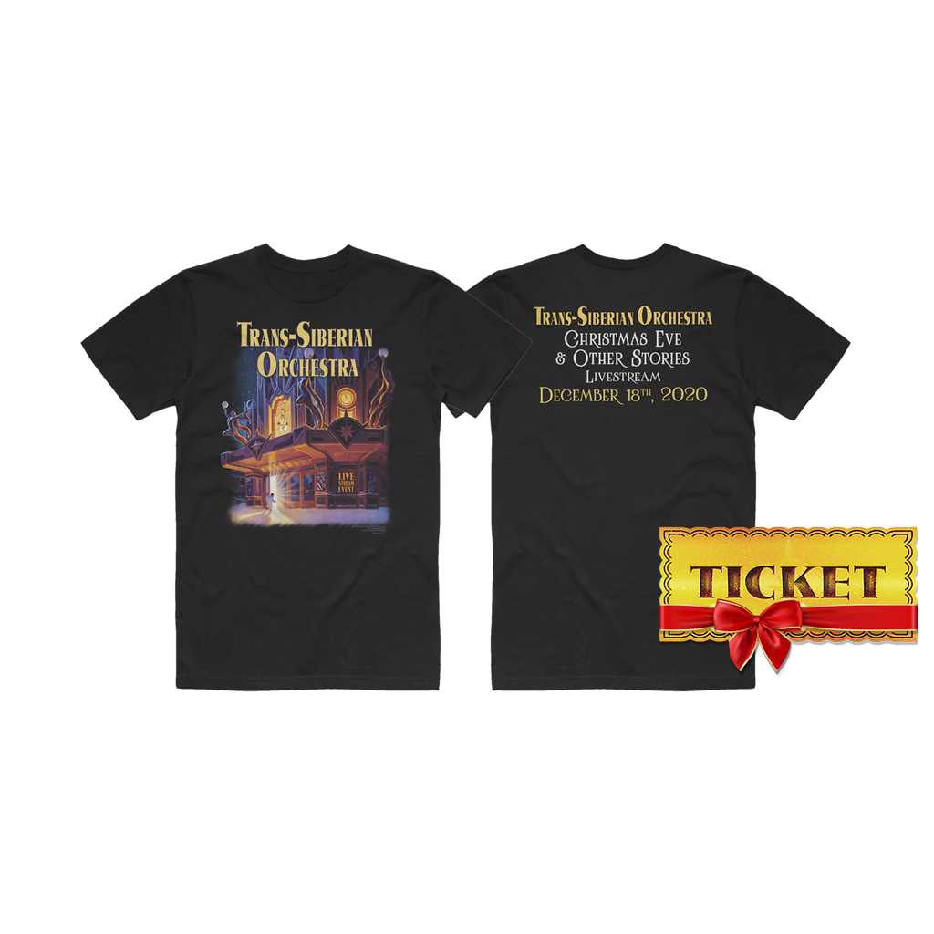 Stream Access Gift Ticket + Event T-Shirt