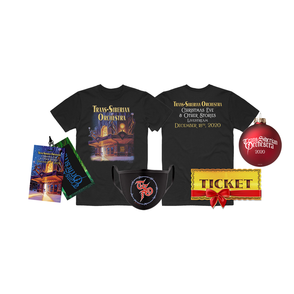 "Stream Access Gift Ticket + ""Big Holiday Bundle"""
