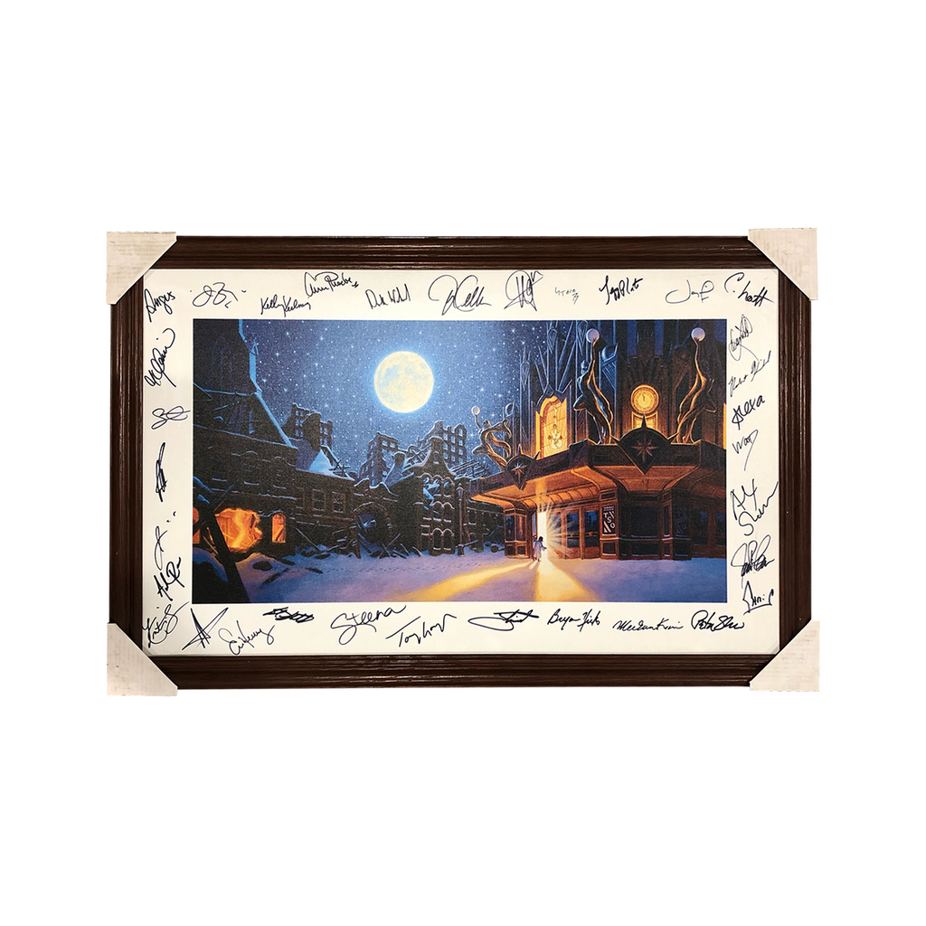 Theater Litho (Signed and Framed): Lithograph by Greg Hildebrandt