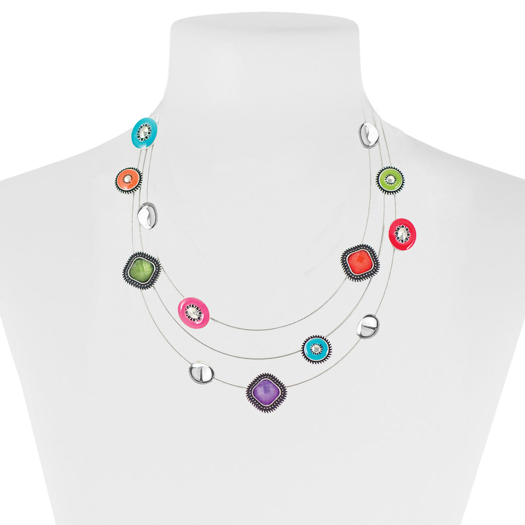 COLLIER.NECKLACE 1019-MIX