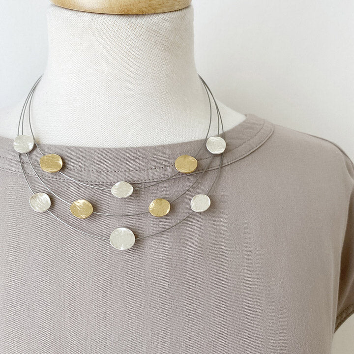 COLLIER.NECKLACE 1044-MIX-G