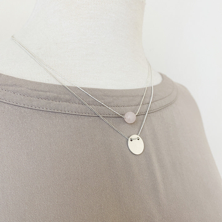 COLLIER.NECKLACE 1343-PNK-S