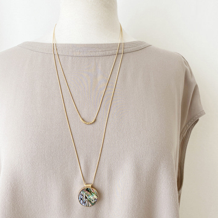COLLIER.NECKLACE 1408-MIX-G