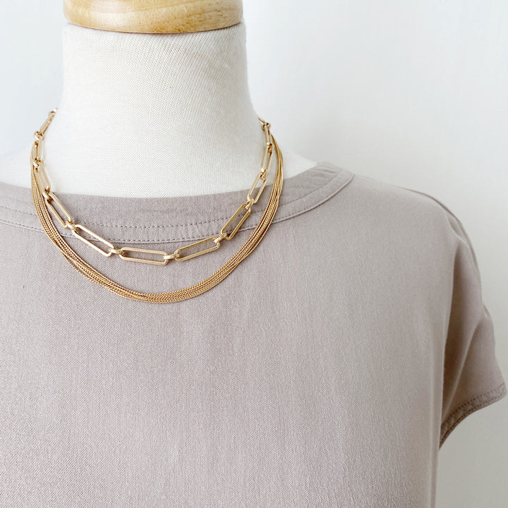 COLLIER.NECKLACE 1414-GLD