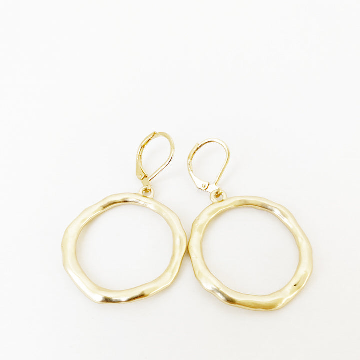 BOUCLES D'OREILLES.EARRINGS 2223-GLD