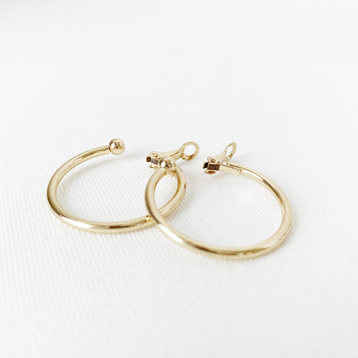 BOUCLES D'OREILLES.EARRINGS 2332-GLD-S