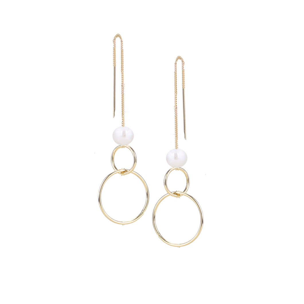 BOUCLES D'OREILLES.EARRINGS 2371-GLD