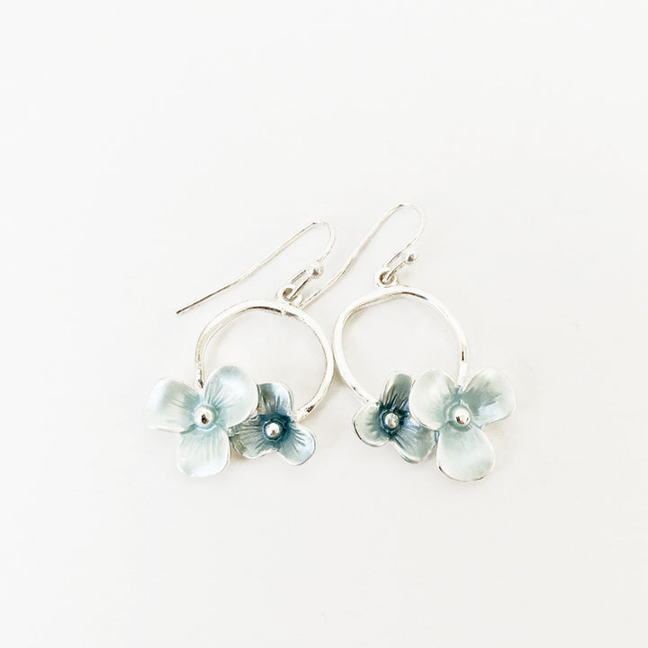 BOUCLES D'OREILLES.EARRINGS 2379-BLU