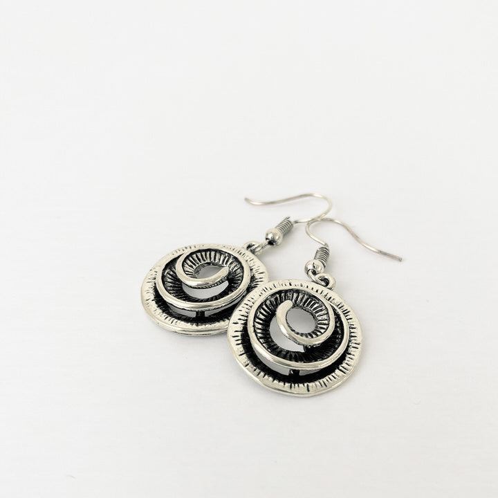 BOUCLES D'OREILLES.EARRINGS 2400-SLV