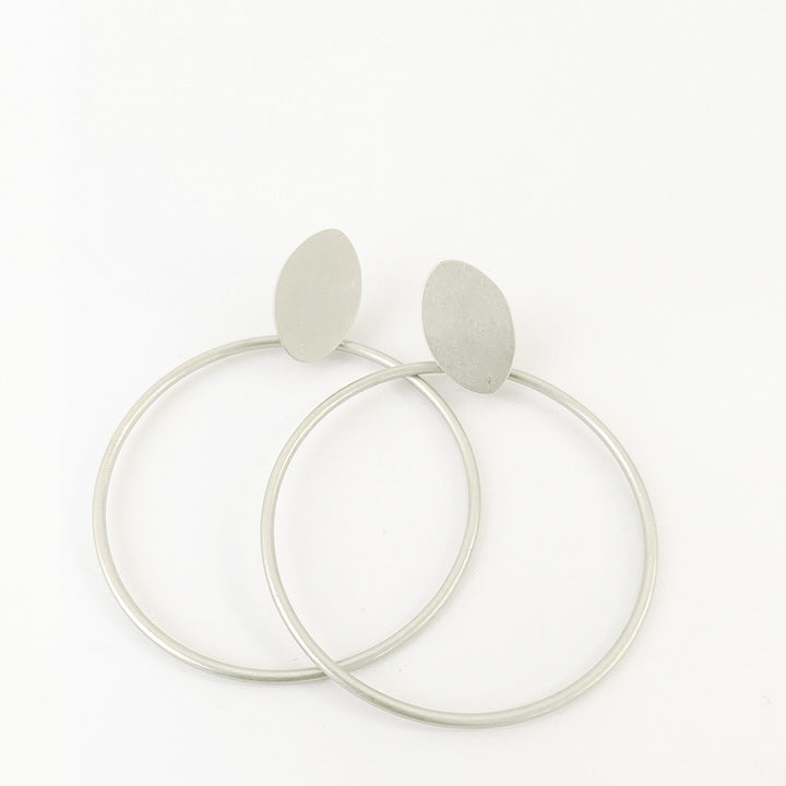 BOUCLES D'OREILLES.EARRINGS 2408-SLV-M