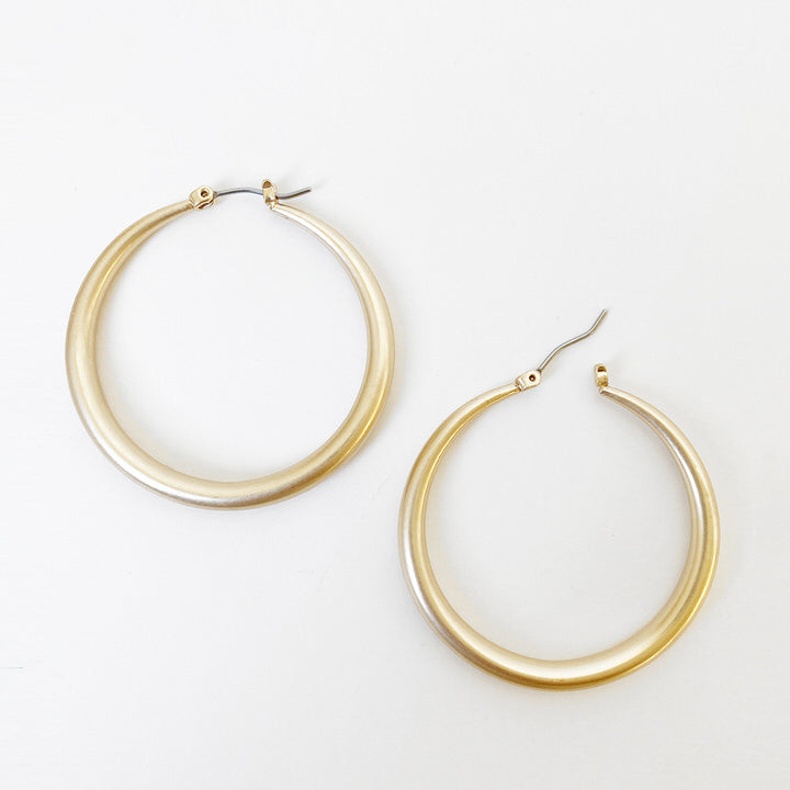 BOUCLES D'OREILLES.EARRINGS 2421-GLD-M