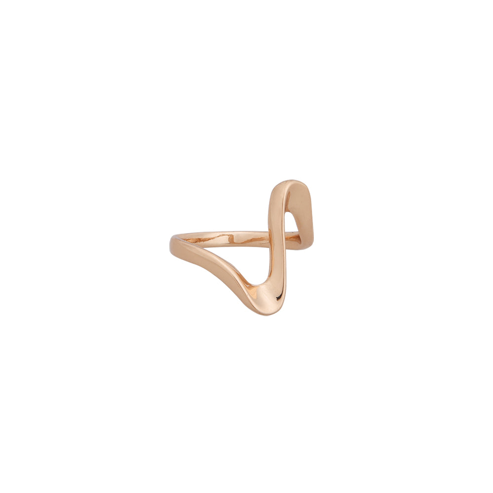 BAGUE ONDULÉE - OR | WAVY SIZED RING - GOLD