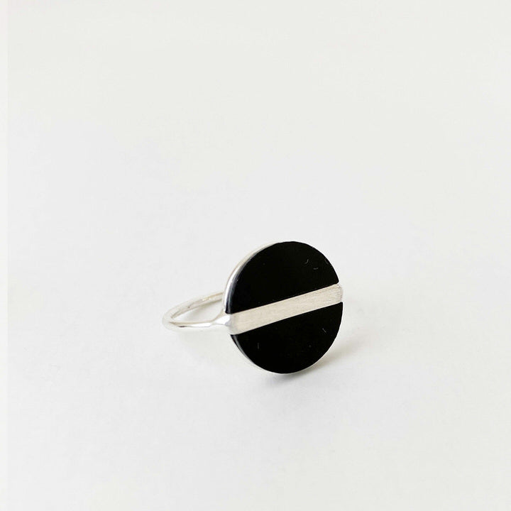 BAGUE.RING 4147-BLK-S
