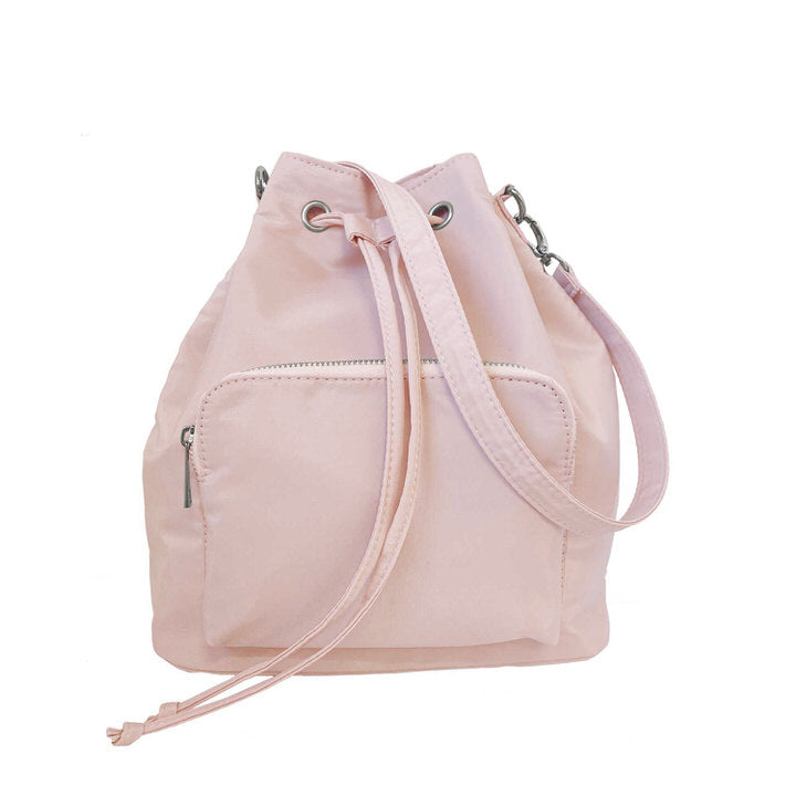 SAC 3 EN 1 . SAC À DOS/SAC À MAIN OU BANDOULIÈRE.GANSES AJUST. - ROSE | 3/1 NYLON BAG.BACKPACK/SHOULDER BAG/CROSSBODY.ADJUST STRAP - PINK