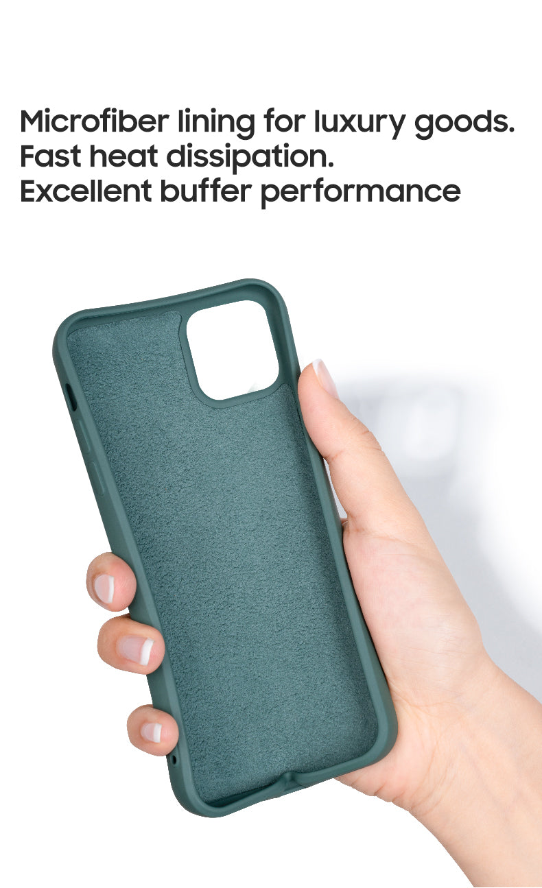 Protective Liquid Silicone Rubber Case for iPhone 12