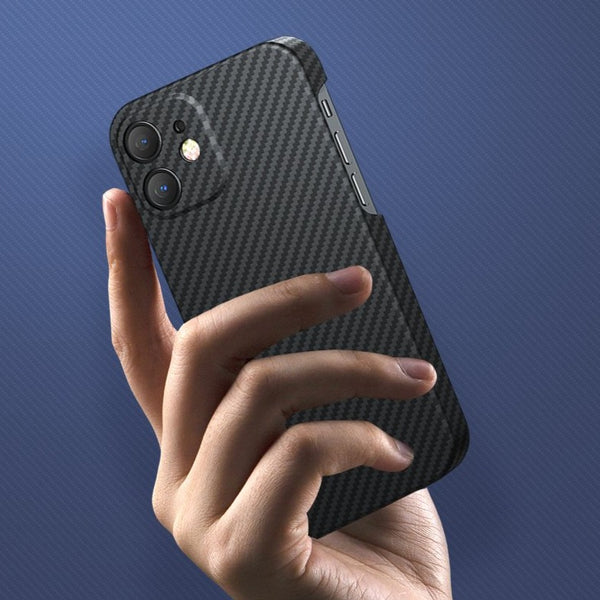 Aramid Carbon Fiber Phone Case for iPhone 12