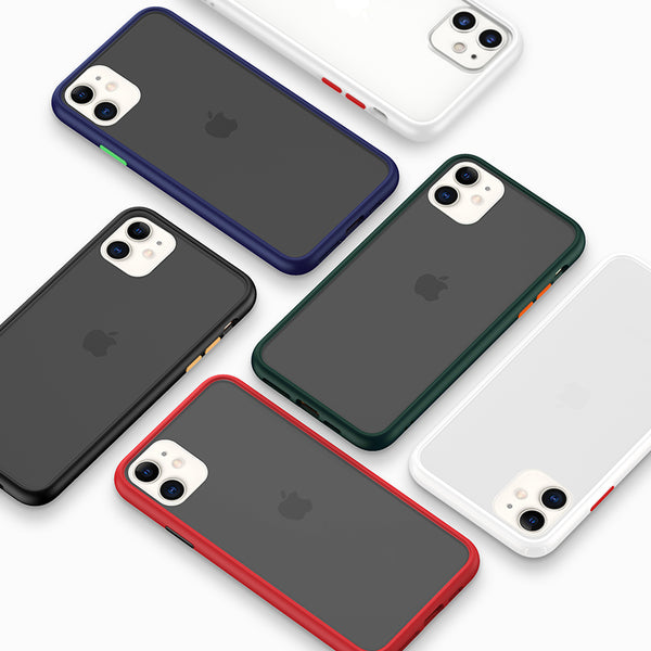 Skin-touch Matte Hard PC Shock-Proof case for iPhone 11/ iPhone XR