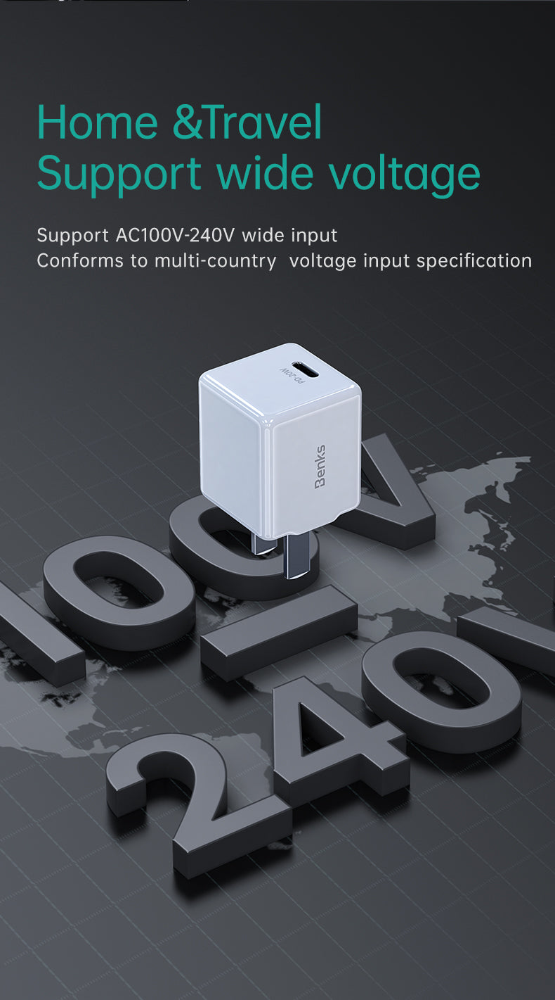 20W Mini PD Wall Charger