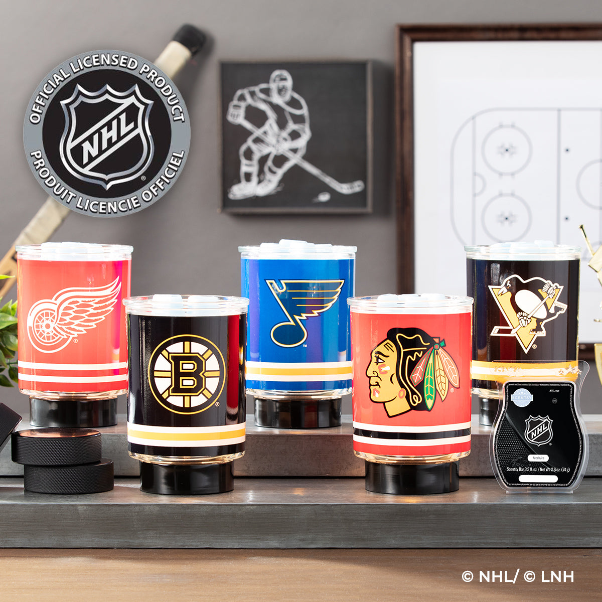 Pure Scents Canada - NHL Collection Scentsy Release