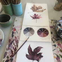 Load image into Gallery viewer, WATERCOLOUR WORKSHOP - HOMAGE TO AUTUMN