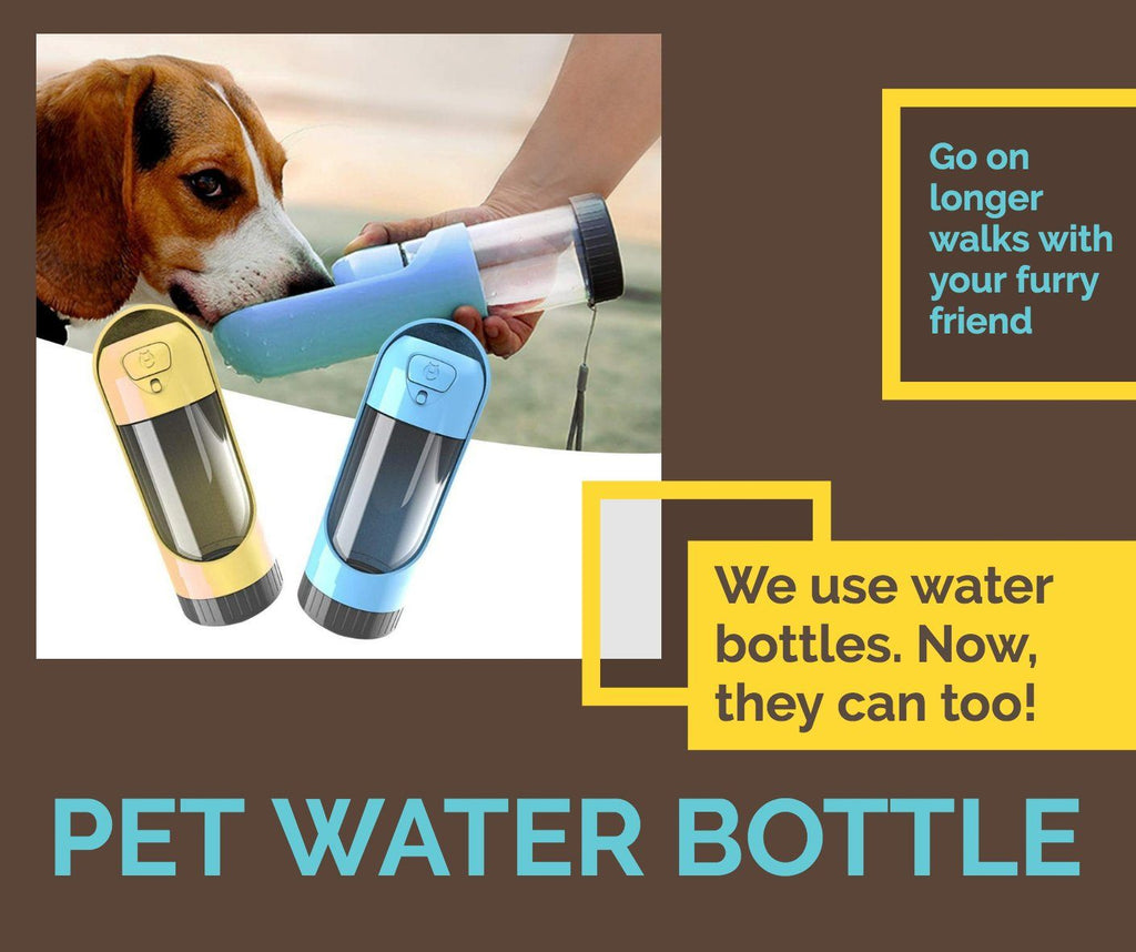 Portable Pet Water Bottle | Better Bits 'n' Bobs
