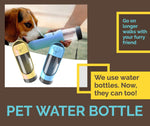 Load image into Gallery viewer, Portable Pet Water Bottle | Better Bits 'n' Bobs