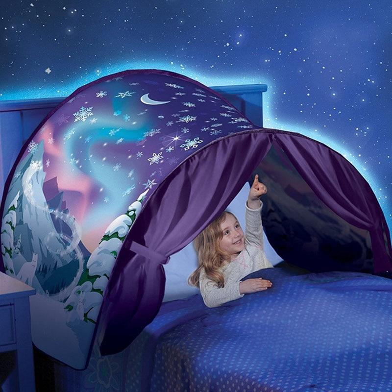 Printed Dream Tent Popup Bed Tent Mosquito Net | Better Bits 'n' Bobs