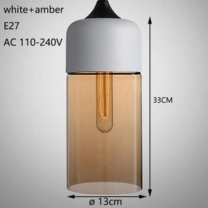 Nordic Modern Loft hanging Glass Pendant Lamp Fixtures | Better Bits 'n' Bobs
